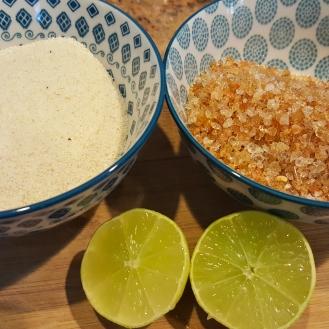 Rava, Edible gum, Lemon